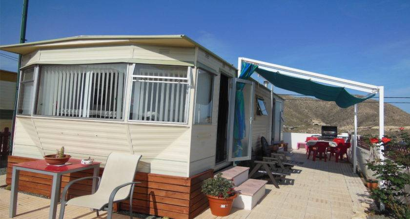 Cheap Static Caravan Mobile Home Park Near Benidorm