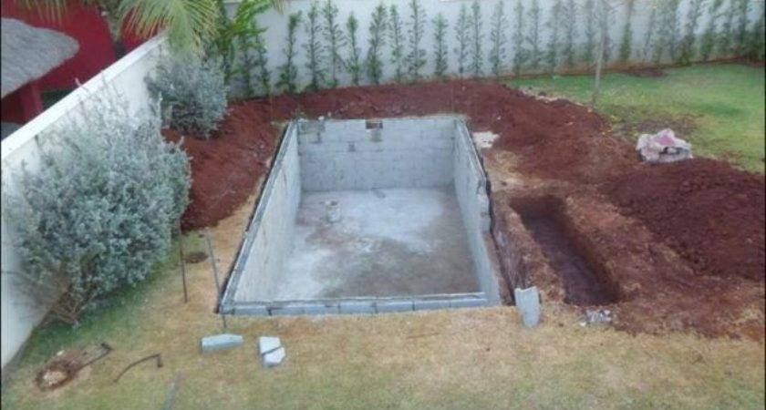 Cheap Way Build Your Own Swimming Pool Home Design