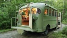 Chevrolet Viking Short Bus Converted Into Camper