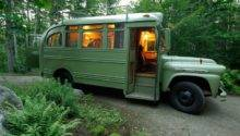 Chevrolet Viking Short Bus Converted Into Camper