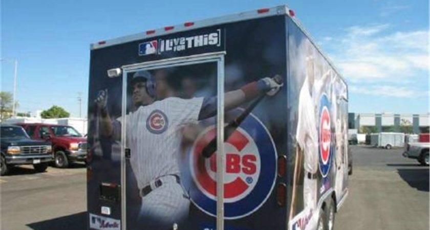 Chicago Cubs Vending Trailer Advantage Trailers