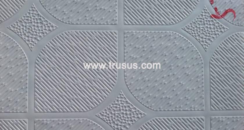 China Vinyl Coated Gypsum Ceiling Panels