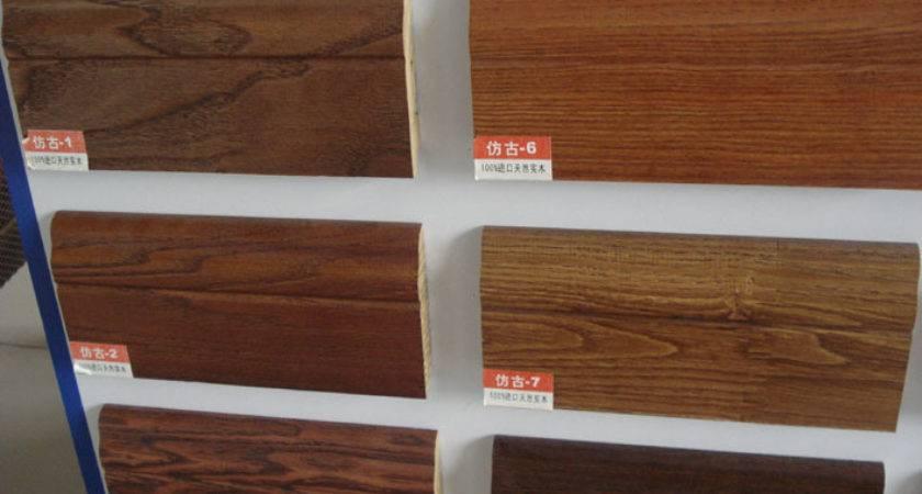 China Wood Skirting Shdq