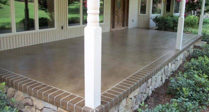 Choose Types Outdoor Porch Flooring