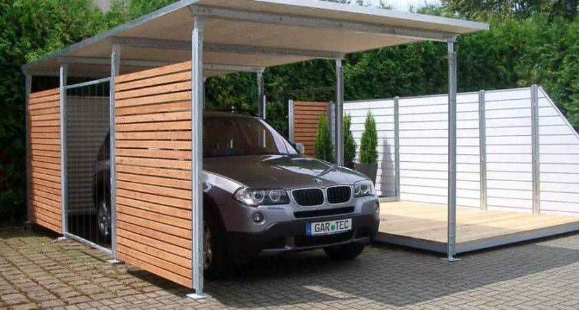 Choose Wooden Carport Building