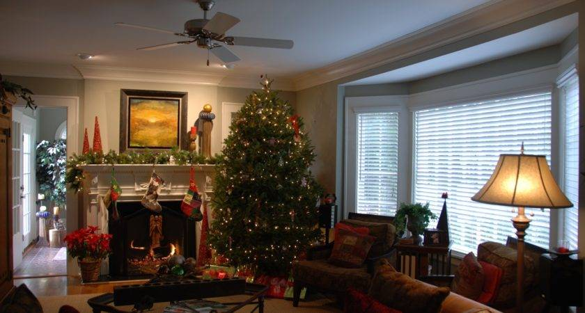 Christmas Decorating Small Living Room Latest