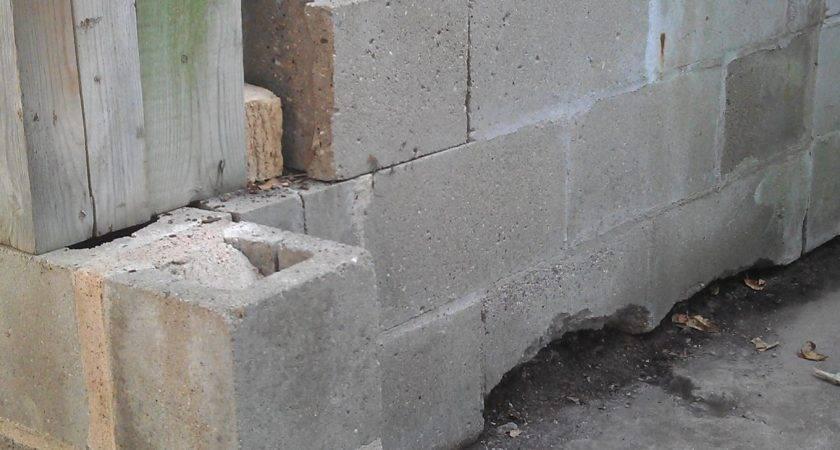 Cinderblock Can Replace Bit Cinder Block Wall
