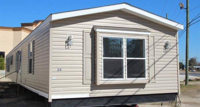 Clanton Homes Triple Wide Log Mobile Home