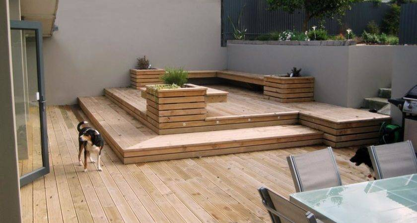 Classy Deck Flooring Desing Wooden Ideas Outdoor Space