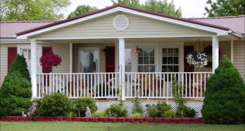 Clayton Mobile Home Front Porch