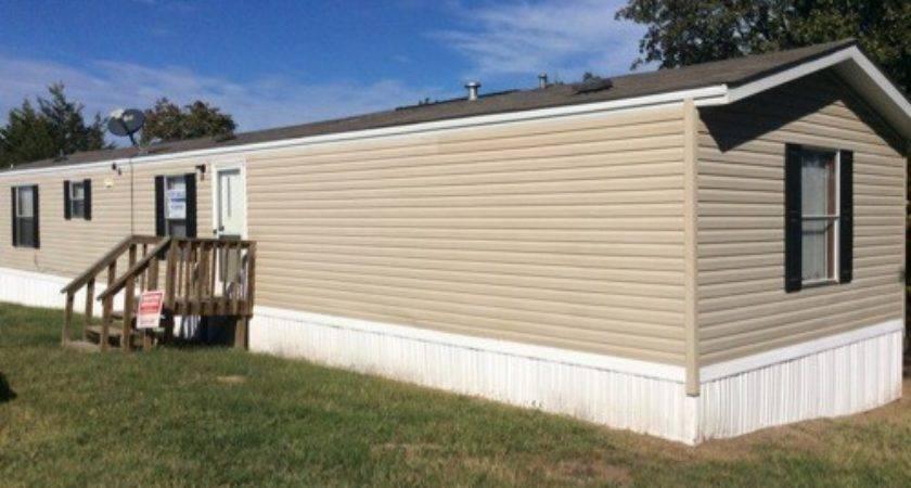 Clayton Single Wide Repo Mobile Home Oklahoma
