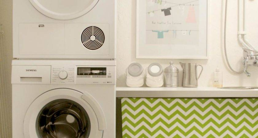 Clean Inspiring Basement Laundry Room After Makeover