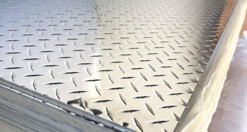 Clean Maintain Aluminum Diamond Plate Shine