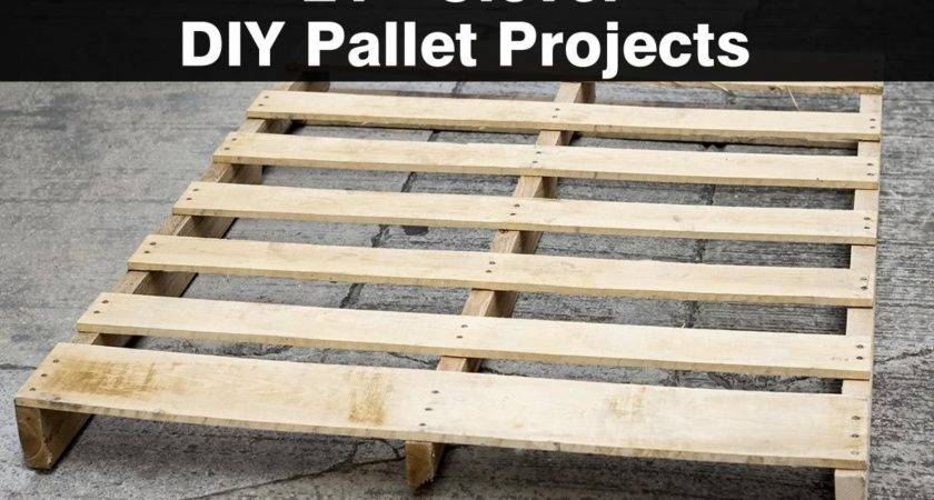 Clever Diy Pallet Projects