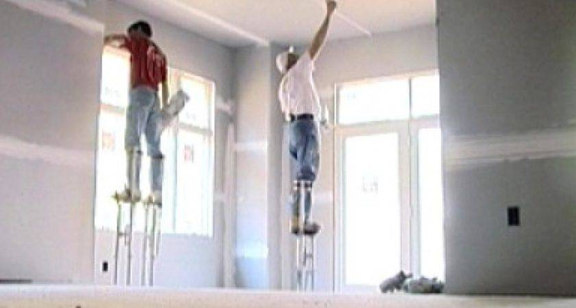 Closing Walls Hanging Drywall Diy