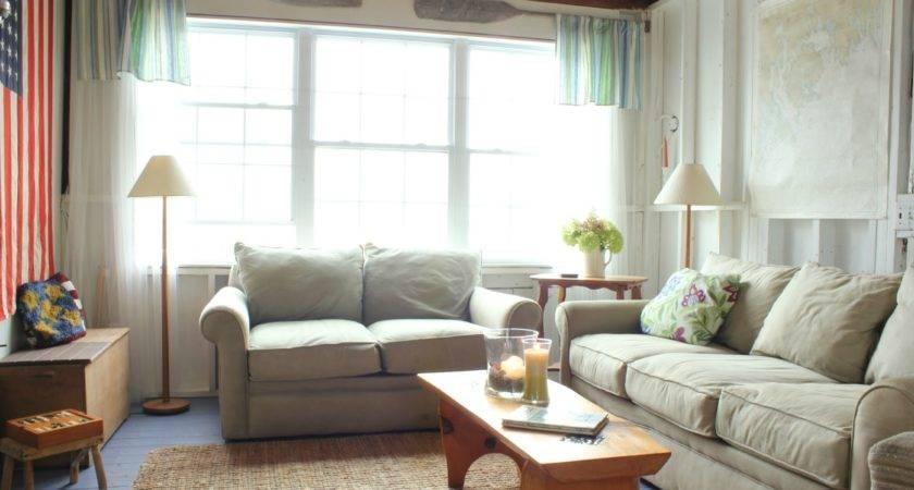 Coastal Cottage Living Room