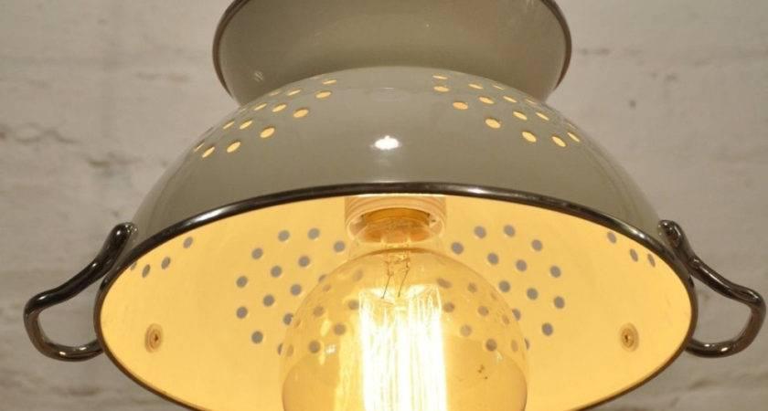 Colander Pendant Light Fixture Kitchen Island Pantry