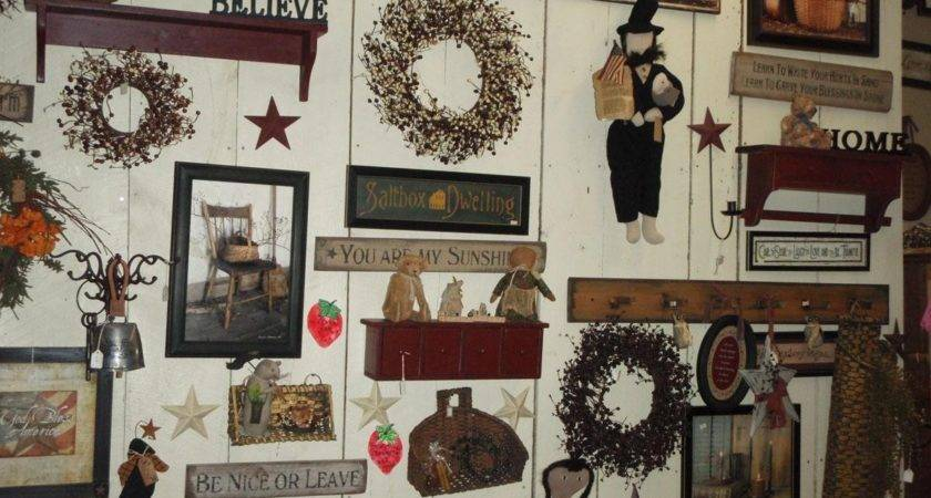Collection Primitive Wall Art Ideas