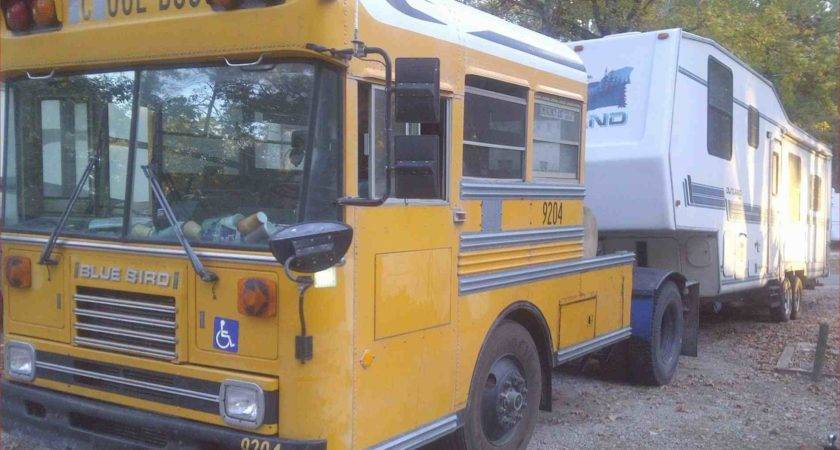 Collection School Bus Camper