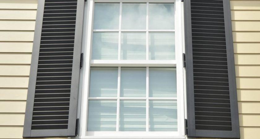 Colonial Exterior Shutters Windows Home Ideas