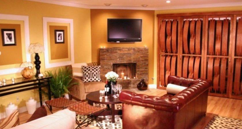 Color Ideas Create Warm Living Room Home Decor Report