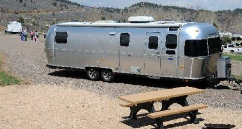 Colorado County Campground Offers Vintage Airstream