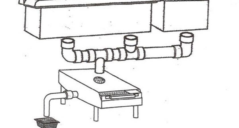 Commercial Sink Drain Embly Diagram Parts Auto