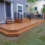 Composite Deck Wrap Around Step Masters Llc