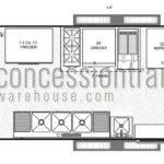 Concession Trailer Floor Plans Layout