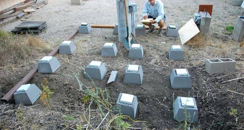 Concrete Pier Block Deck Blocks Guide
