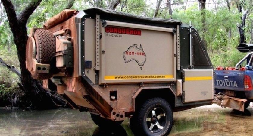 Conqueror Australia Makes Spectacular Off Road Campers