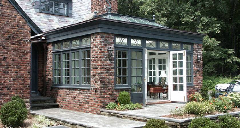 Conservatory Flat Roof Traditional Greenhouses