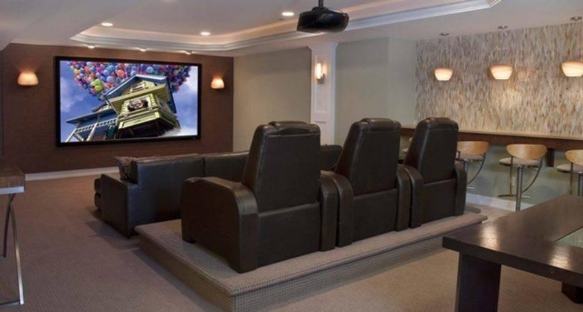 Contemporary Entertainment Home