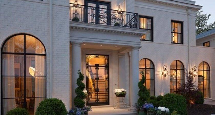 Contemporary Exterior One Story Homes Design