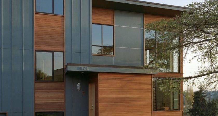 Contemporary House Siding Home Design