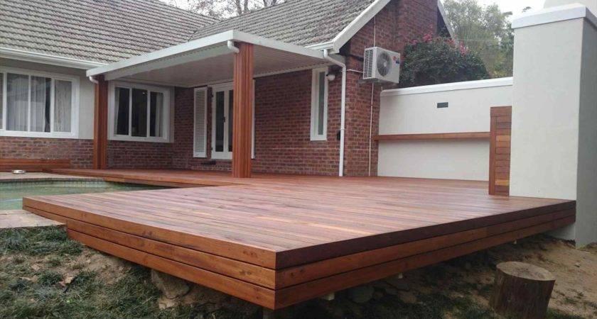 Contemporary Modern Wood Deck Designs Design Wooden Patio