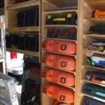 Contractor Tool Trailer Setup Customizing Ideas