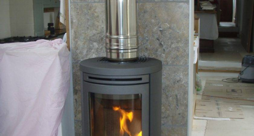 Contura Freestanding Wood Burning Stove Installation
