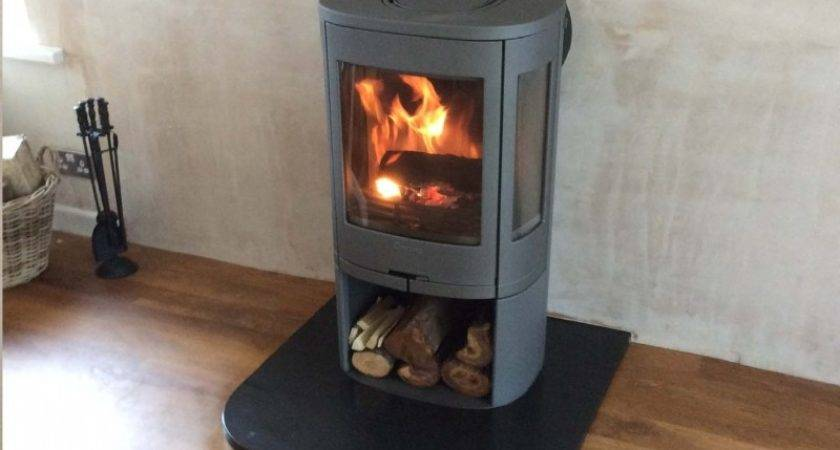 Contura Rear Flue Wood Burning Stove Installation
