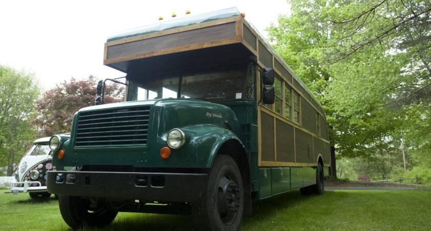 Converted School Bus Camper David Dillon Llc