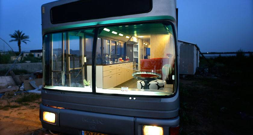 Converted Transportation Bus Tiny House Swoon