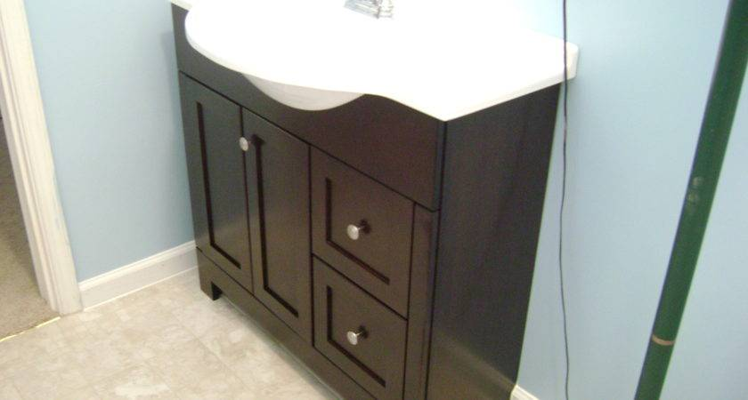 Cool Design Replacing Bathroom Vanity Replace