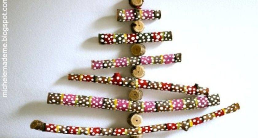Cool Diy Twiggy Christmas Trees Make Kids Kidsomania