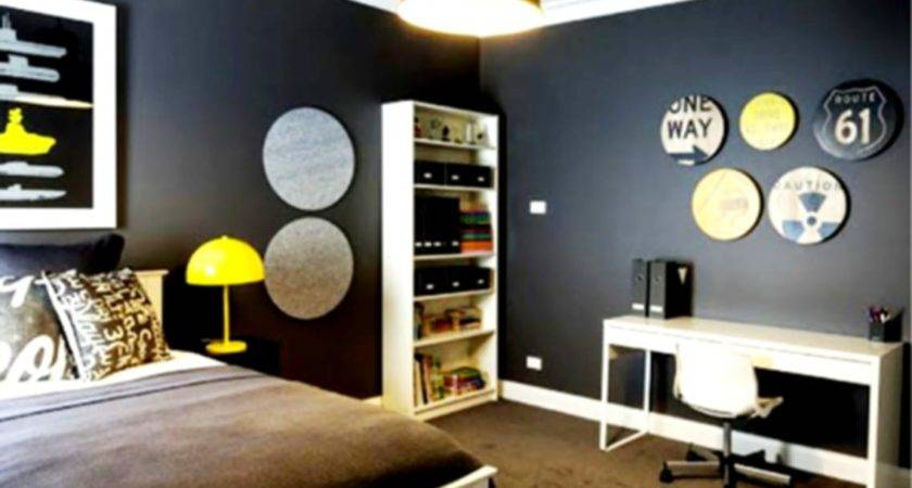 Cool Male Painted Bedroom Decorating Boys Room Ideas