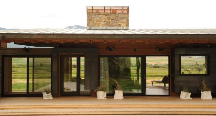 Cool Prefab Modular Homes Home Montana Modern