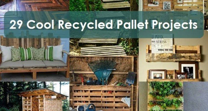 Cool Recycled Pallet Projects Creative Ideas