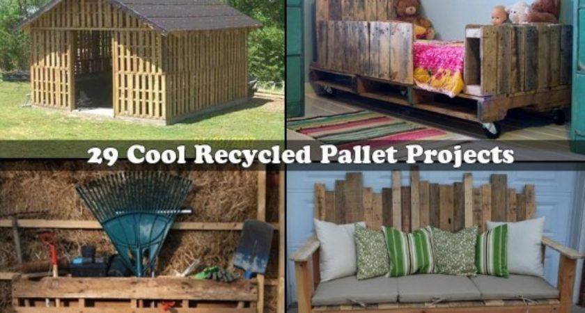 Cool Recycled Pallet Projects