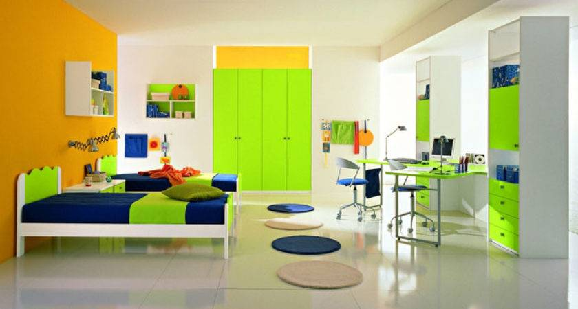 Cool Yellow Green Boys Bedroom Ideas Group