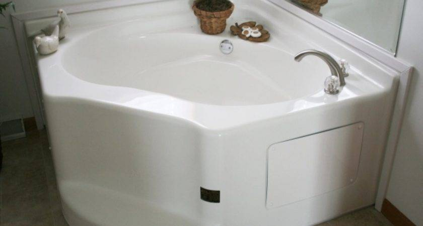Corner Garden Tub Tubs Mobile Homes Home Amazing