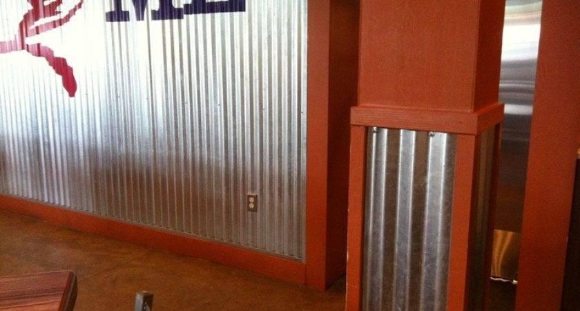 Corrugated Metal Garage Walls Upcycled